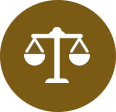 Hudack law justice icon