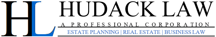 Hudack Law A Professional Corporation, Estate Planning, Real Estate, and Business Law