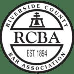 Riverside County Bar Association logo, Corona Estate Planning Attorney.