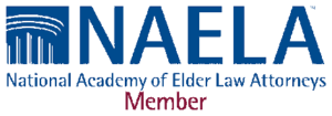 NELA National Academy of Elder Law Attorneys Member logo, Corona Estate Planning Attorney.
